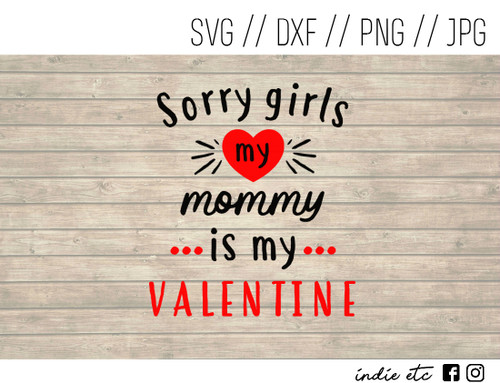 mommy is my valentine digital art