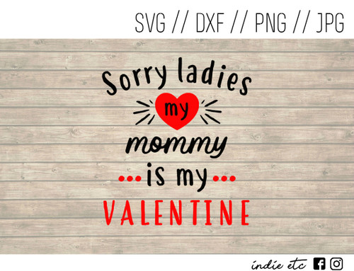 mommy is my valentine digital art