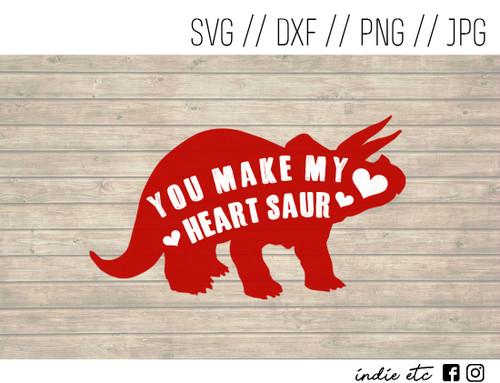 you make my heart saur digital art