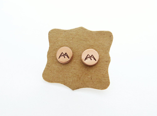 mountain earring