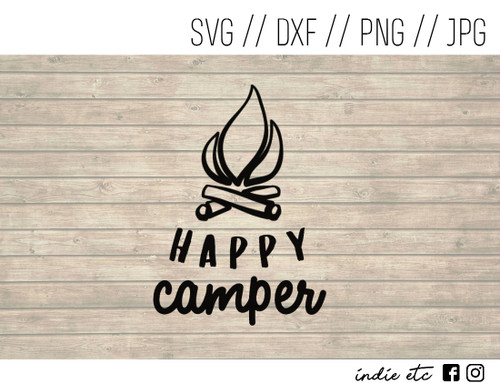 happy camper digital art