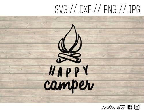 happy camper digital art