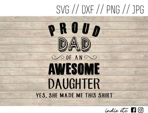 proud dad digital art