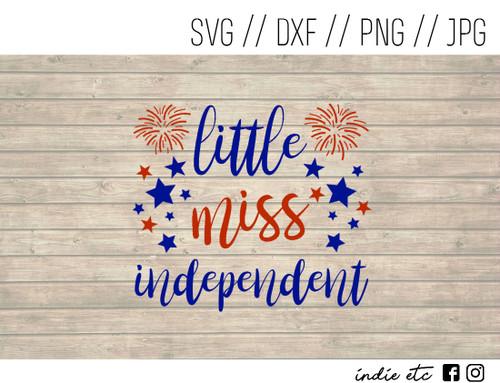 little miss independent digital art