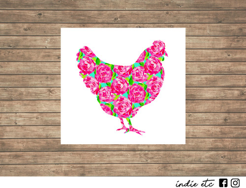chicken decal