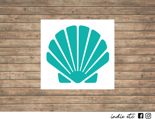 seashell decal