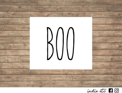 boo decal
