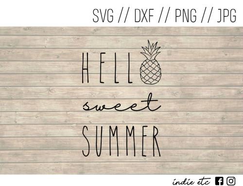 hello summer digital art