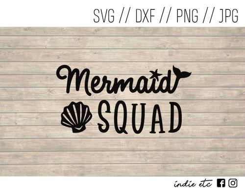 mermaid squad digital art