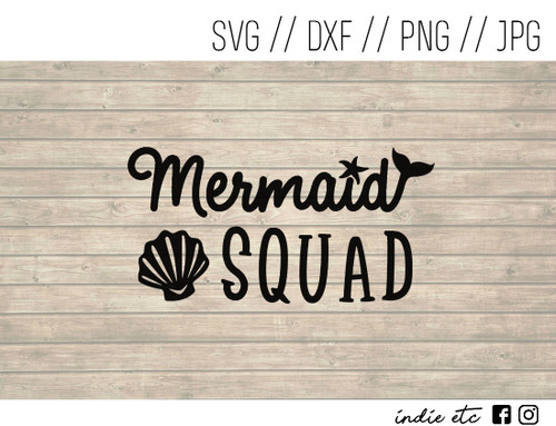 mermaid squad digital art
