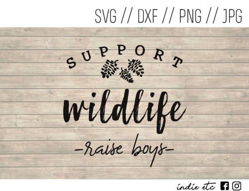 support wildlife digital art