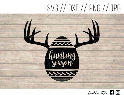 hunting season easter egg digital art
