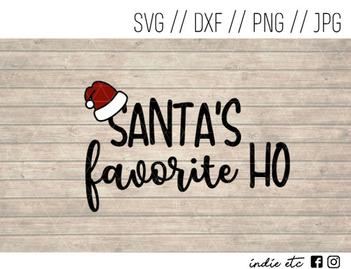 santa's favorite ho digital art