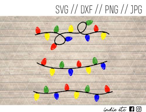 string lights digital art