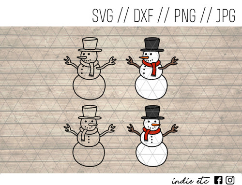 snowmen digital art