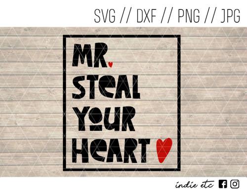 mr steal your heart digital art