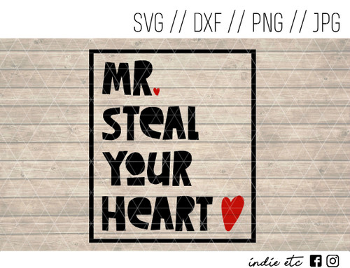 mr steal your heart digital art