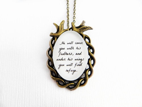 scripture necklace