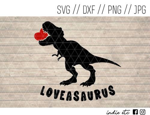 loveasaurus t-rex svg