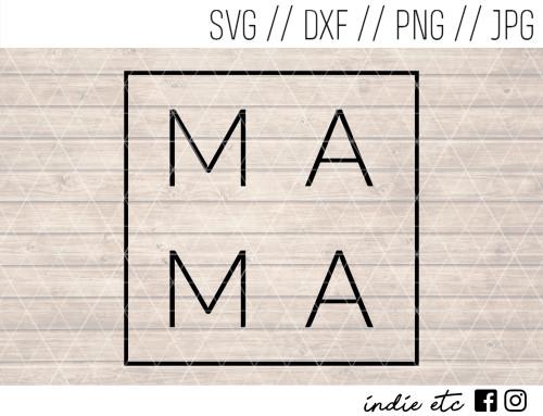 mama cut file