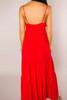 Red Boho Maxi Dress