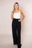 Black Embroidered Pants