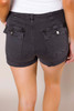Charcoal Cuffed Shorts
