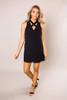 Black Cross-Front Dress - Final Sale