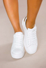 White Stacked Sneakers