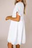 Ivory Eyelet Babydoll Dress - Final Sale
