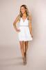 Ivory Checkered Dress
