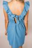Denim Button Dress