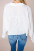 Ivory Cropped Blouse - Final Sale