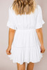 Ivory Crochet Detail Dress - Final Sale