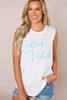 """Ivory """"Getting Hitched"""" Tank - Final Sale"""