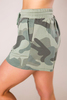 Green Camo Tie Shorts