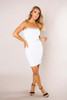 Ivory Sparkle Trim Dress