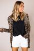 Leopard Button Cardigan
