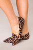 Leopard Pointed Flats