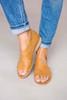 Tan Wrap Flats