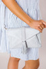 Grey Tassel Purse