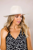 Cream Structured Hat