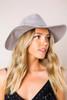 Grey Structured Hat