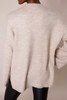 Oatmeal High Neck Sweater