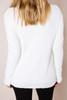 Ivory Lace Neckline Sweater