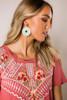 Sage Straw Earrings
