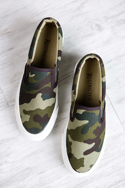 Camo Stacked Sneakers
