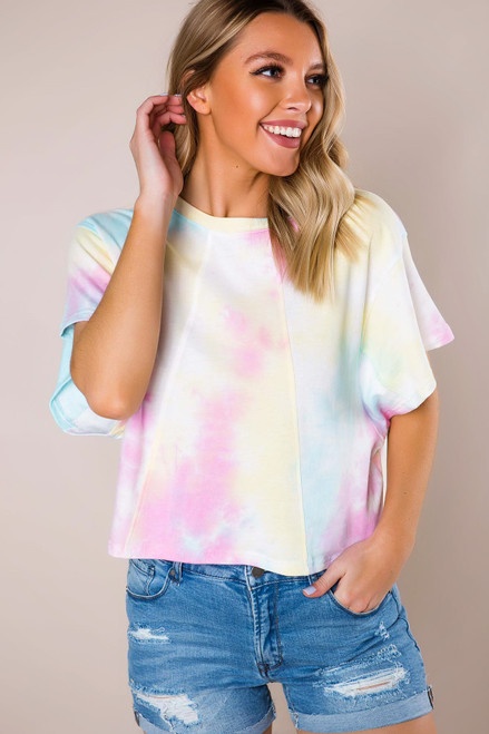 Tie-Dye Over-Sized Tee - Final Sale