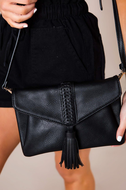Black Tassel Purse