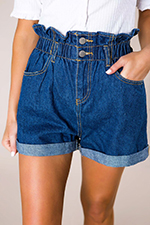 dark-cinched-waist-denim-shorts.jpg